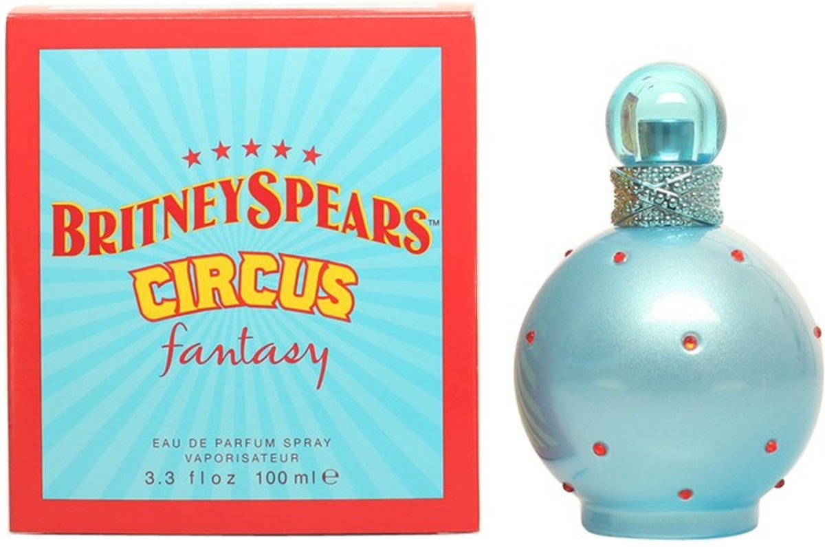 MULTI BUNDEL 2 stuks CIRCUS FANTASY Eau de Perfume Spray 100 ml