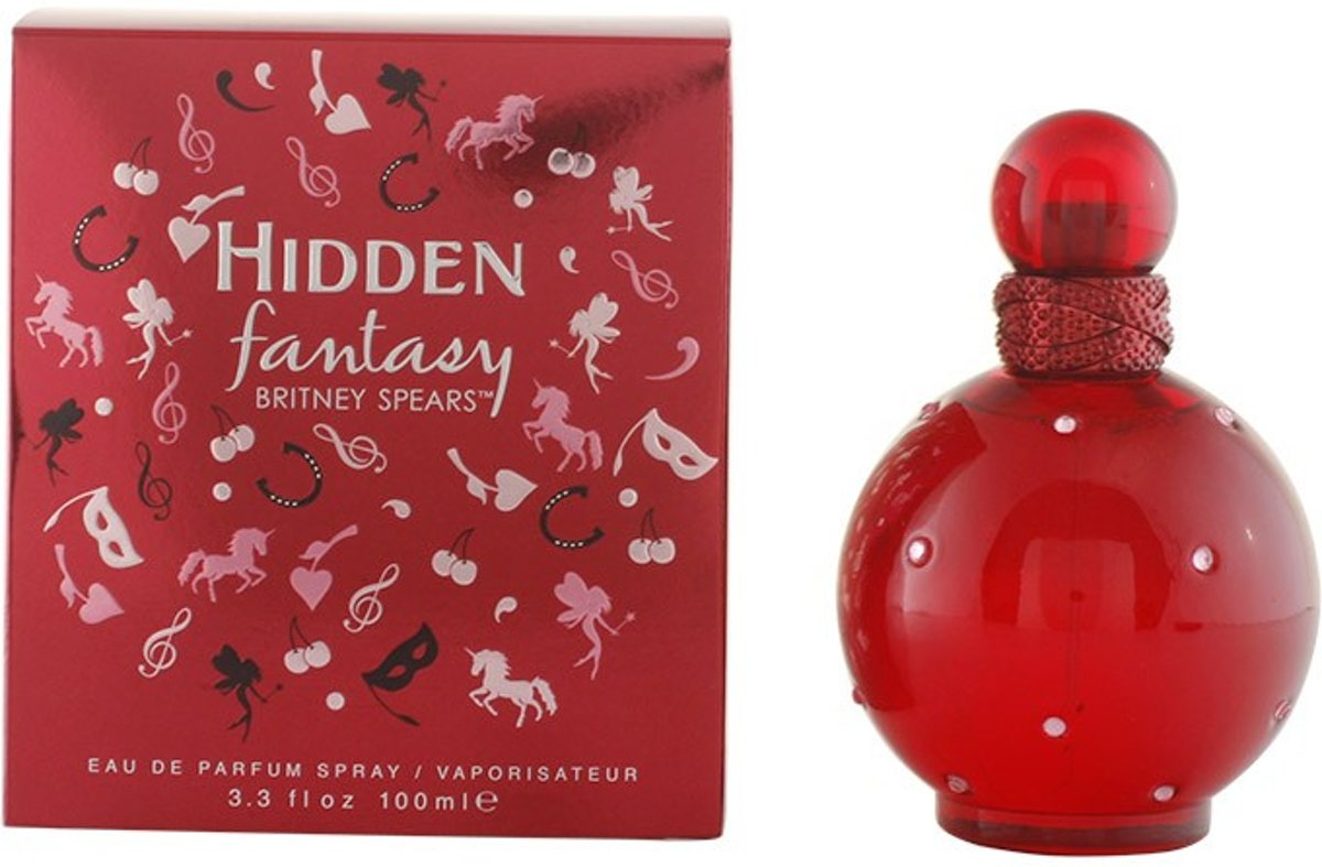 MULTI BUNDEL 2 stuks HIDDEN FANTASY Eau de Perfume Spray 100 ml
