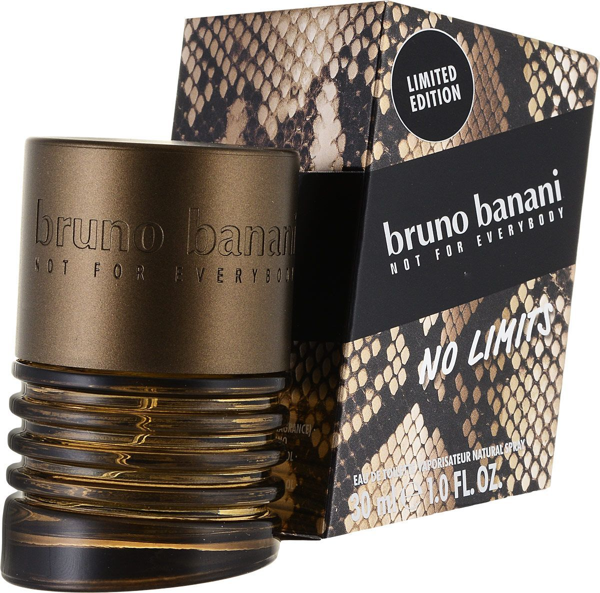 Bruno Banani No Limits Man - 30 ml - eau de toilette spray - herenparfum