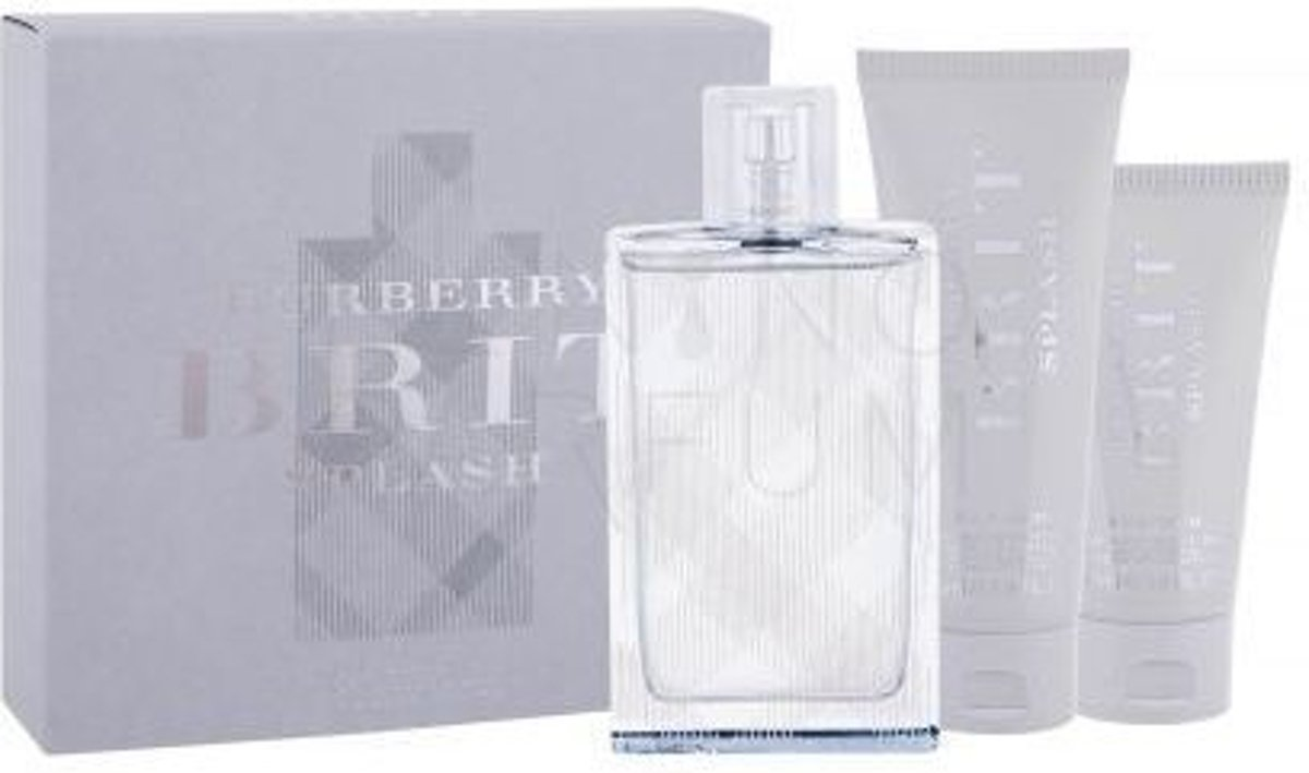 Burberry Brit Splash For Him - Geschenkset