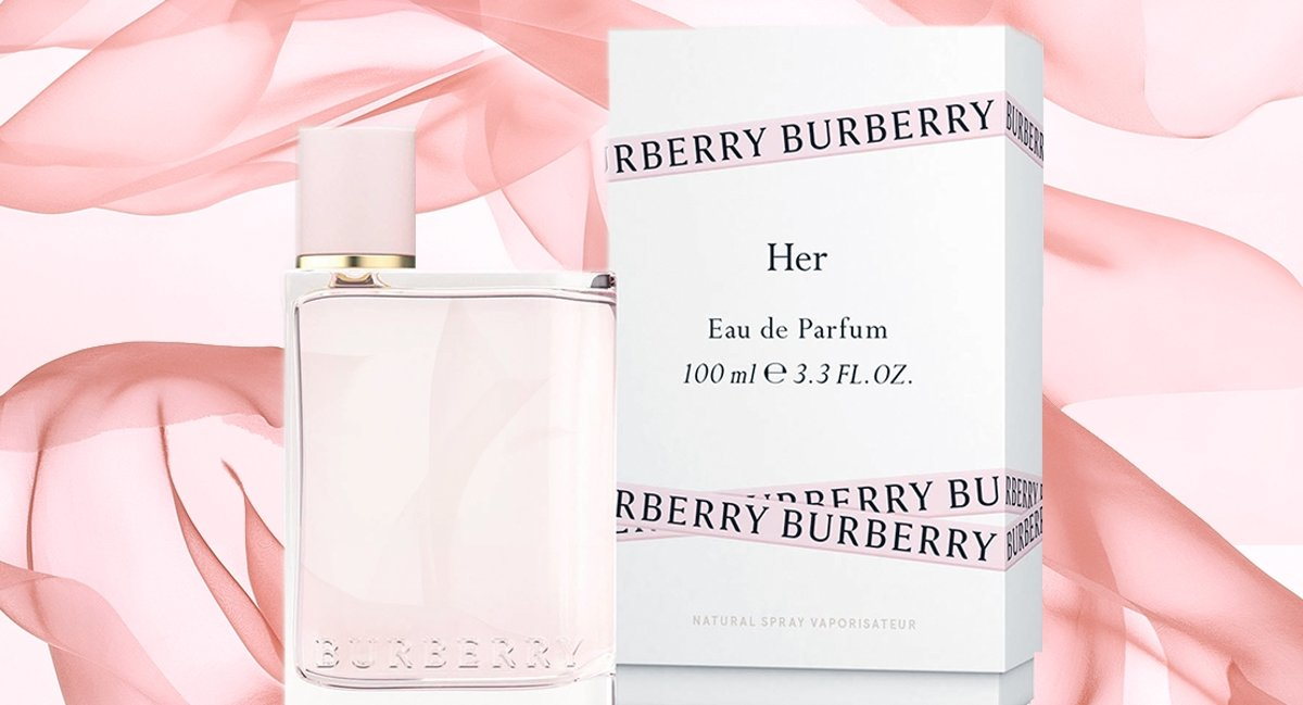 Burberry For Her Eau de Parfum Spray 100 ml