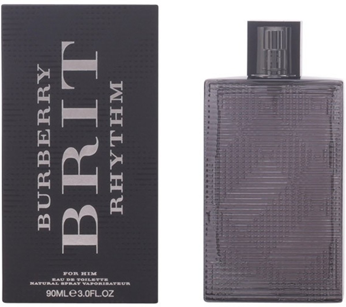 MULTI BUNDEL 2 stuks BRIT RHYTHM FOR HIM Eau de Toilette Spray 90 ml