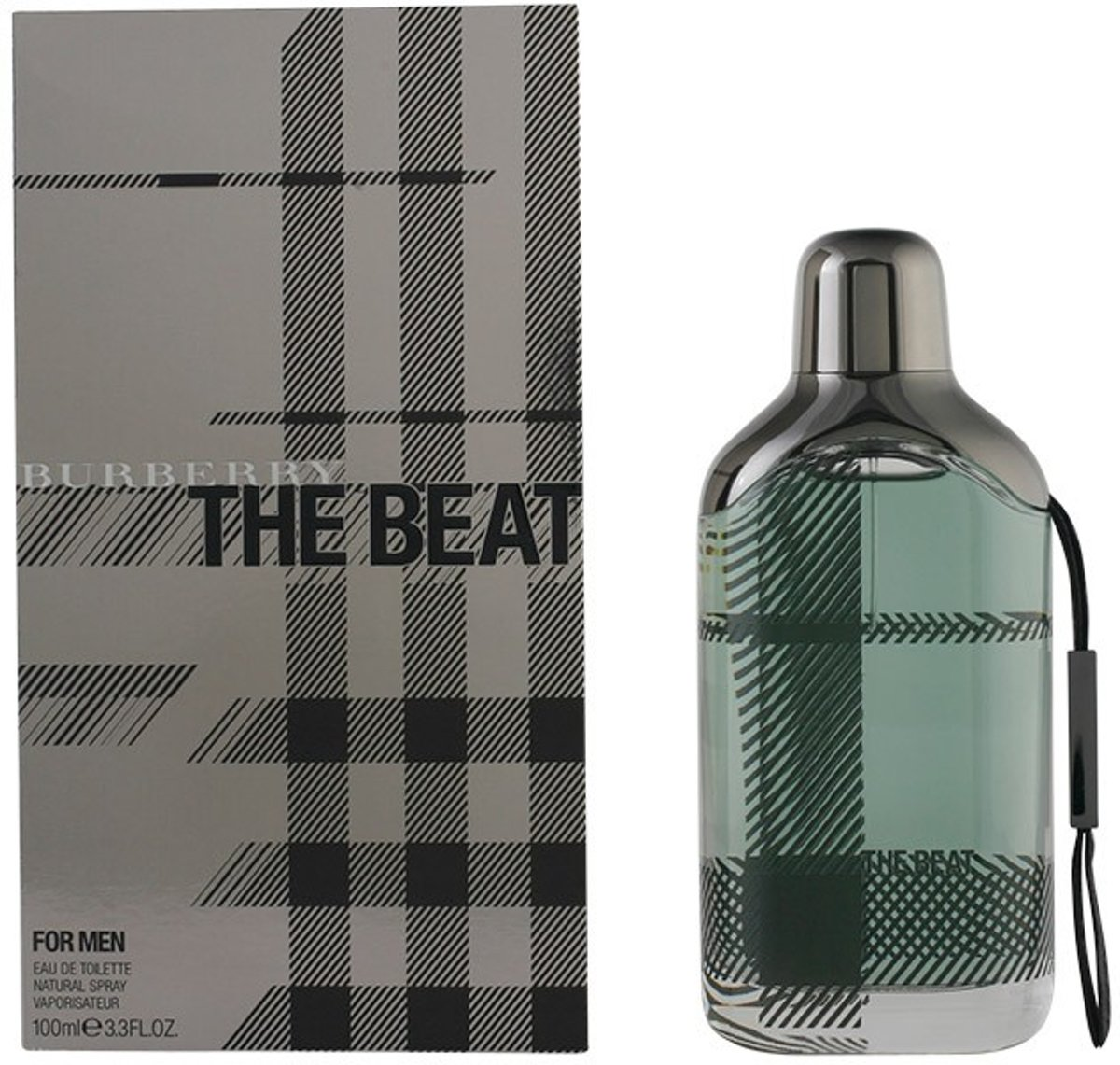 MULTI BUNDEL 2 stuks THE BEAT FOR MEN Eau de Toilette Spray 100 ml