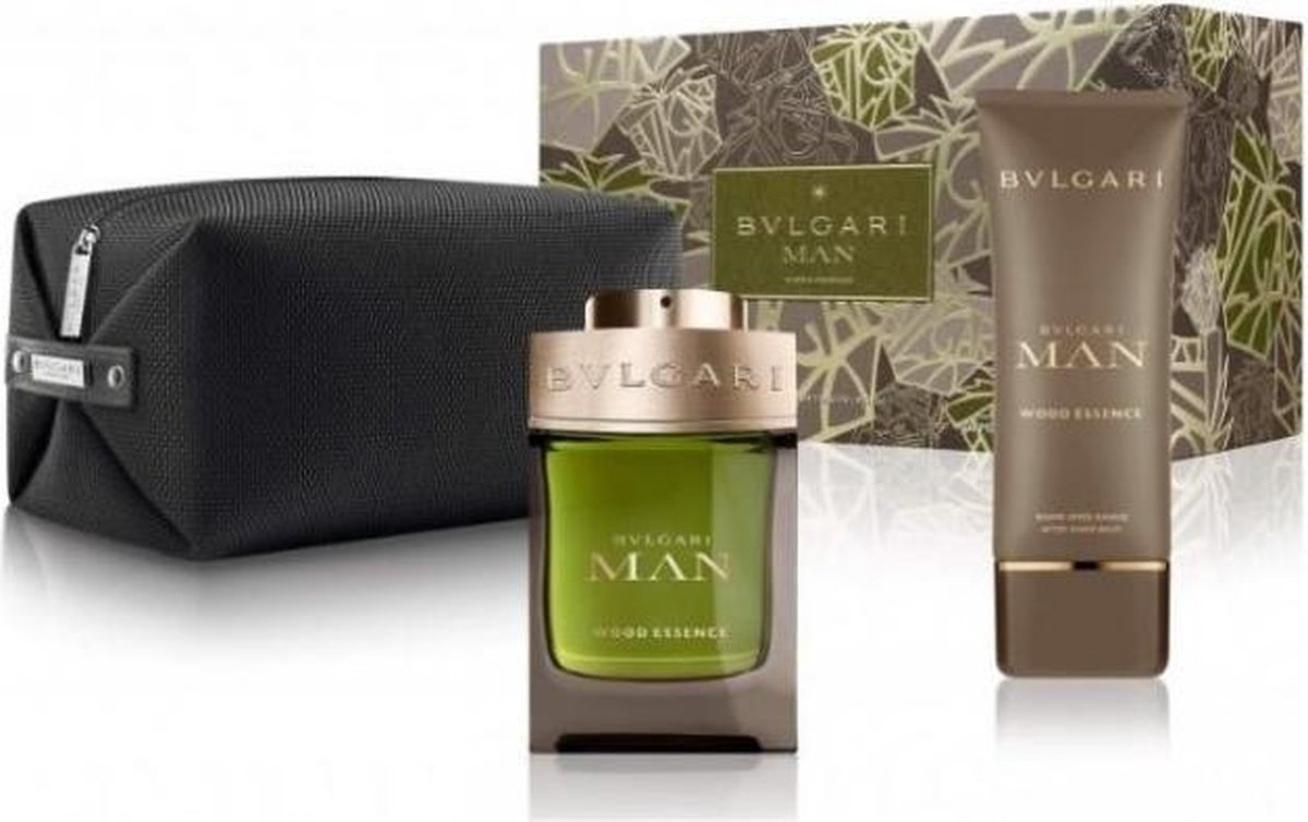 Bulgari Man Wood Essence Edp100+balm+nec