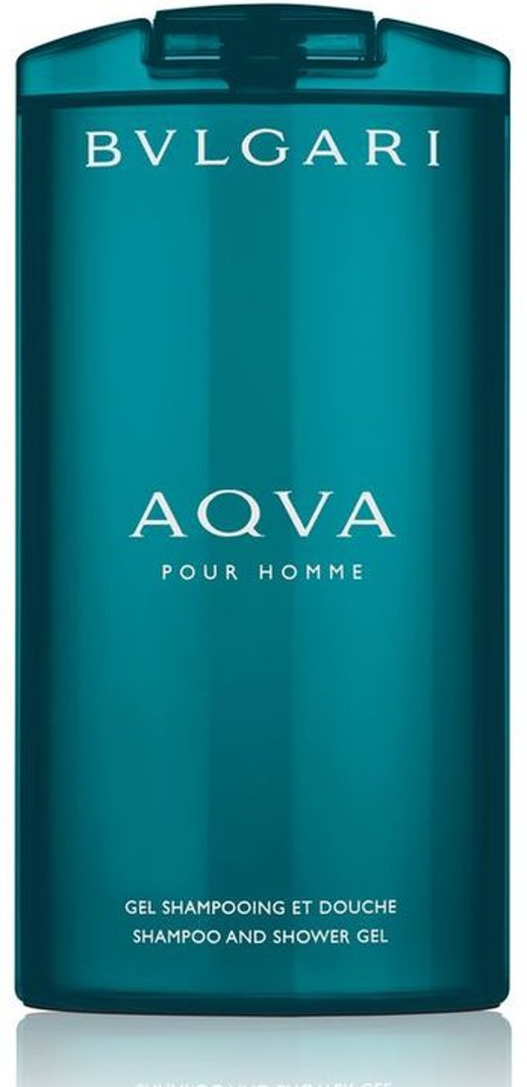 Bvlgari - Aqva Pour Homme - 200 ml - Shampoo And Shower Gel