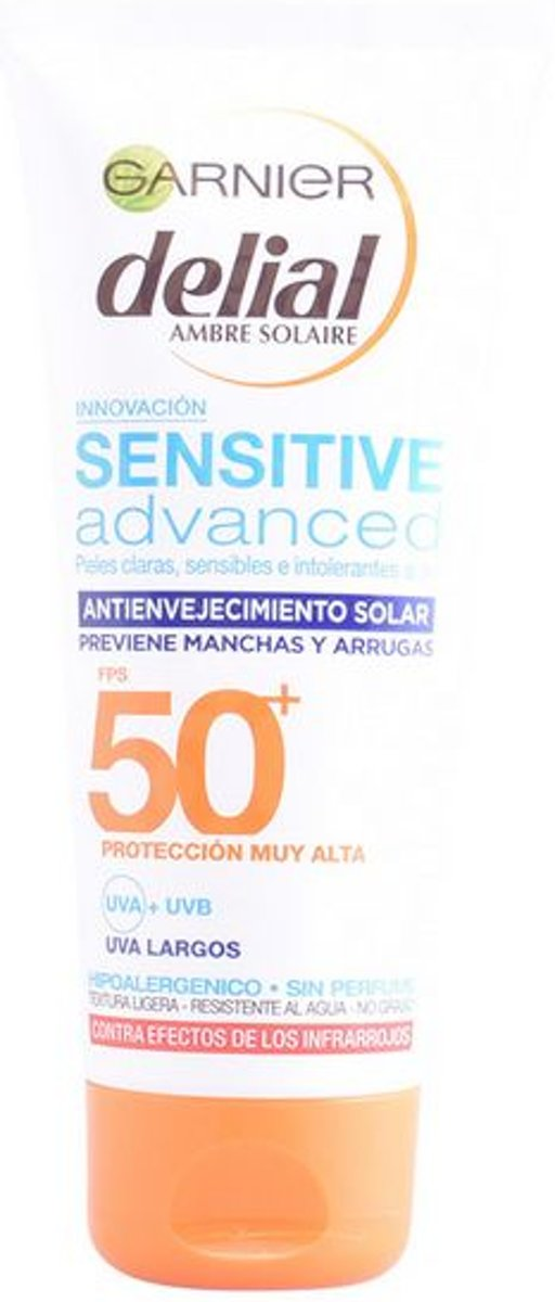 Zonnebrandcrème Sensitive Advanced Delial Spf 50 (100 ml)