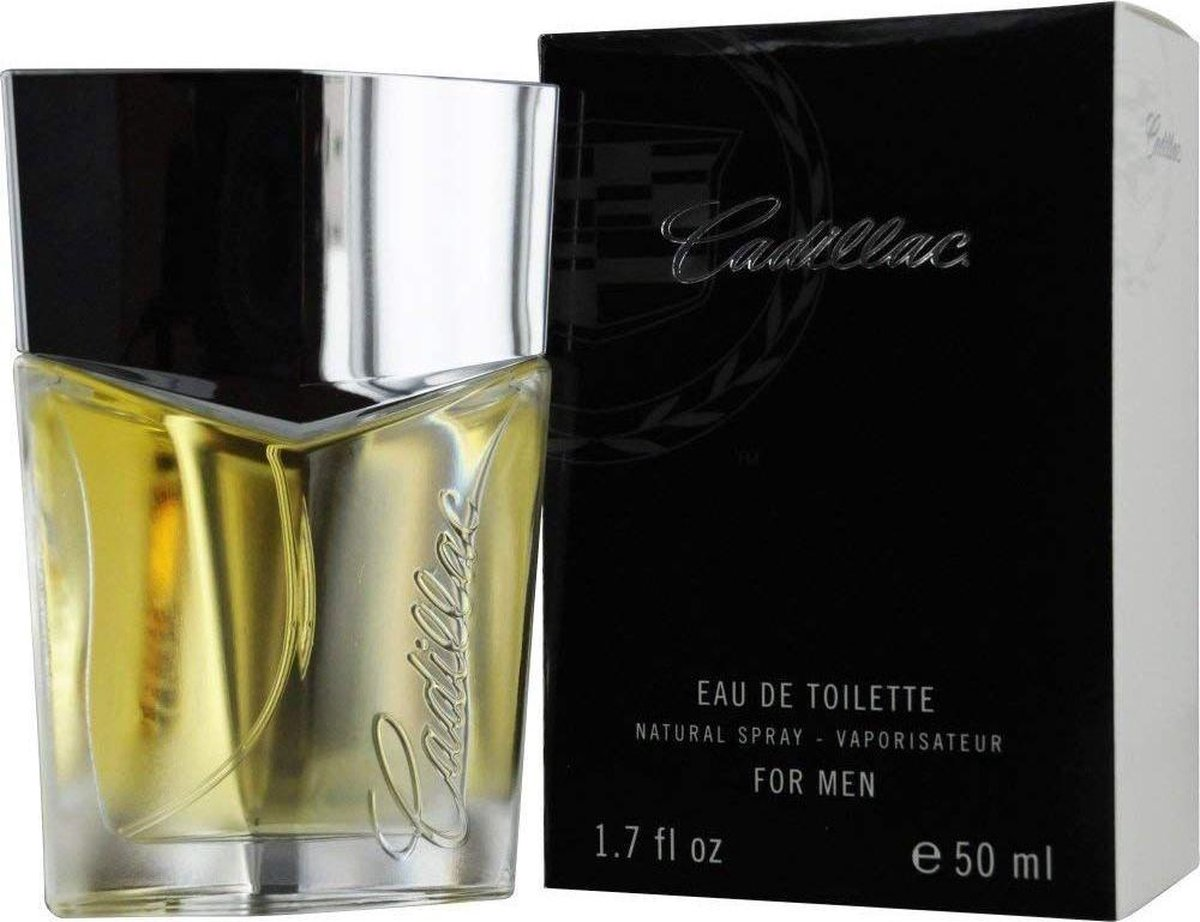 Cadillac Eau de Toilette 50ml Spray