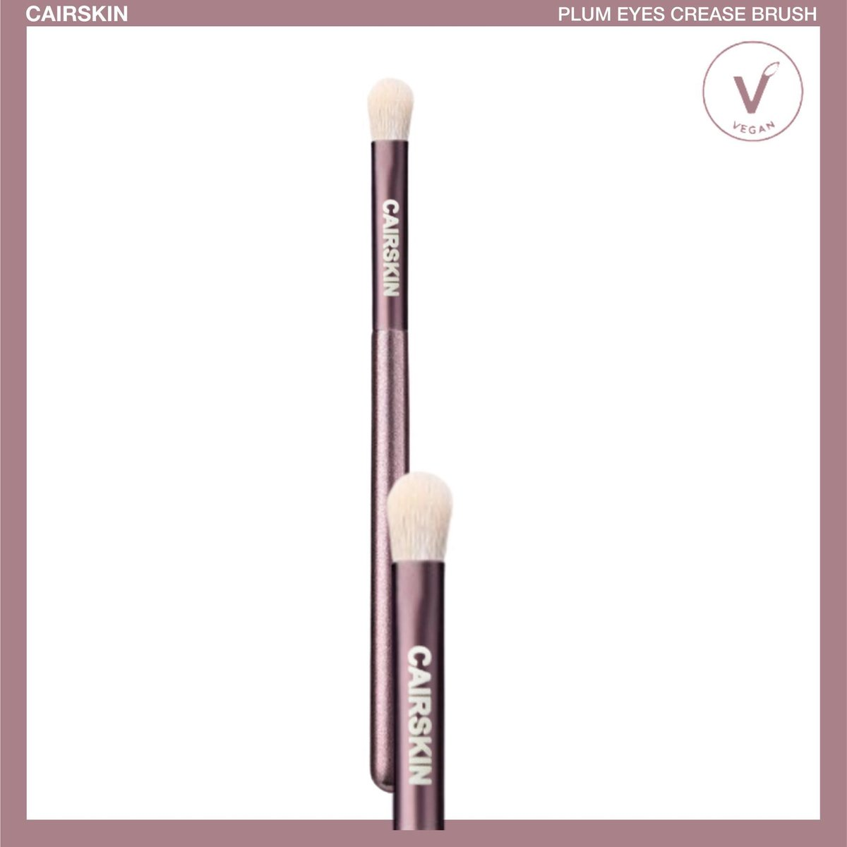 CAIRSKIN Plum Crease Brush - Eyes