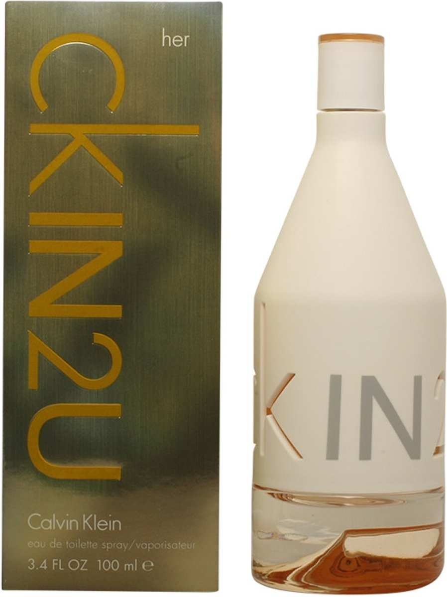CK IN2U HER  - eau de toilette  - spray 100 ml
