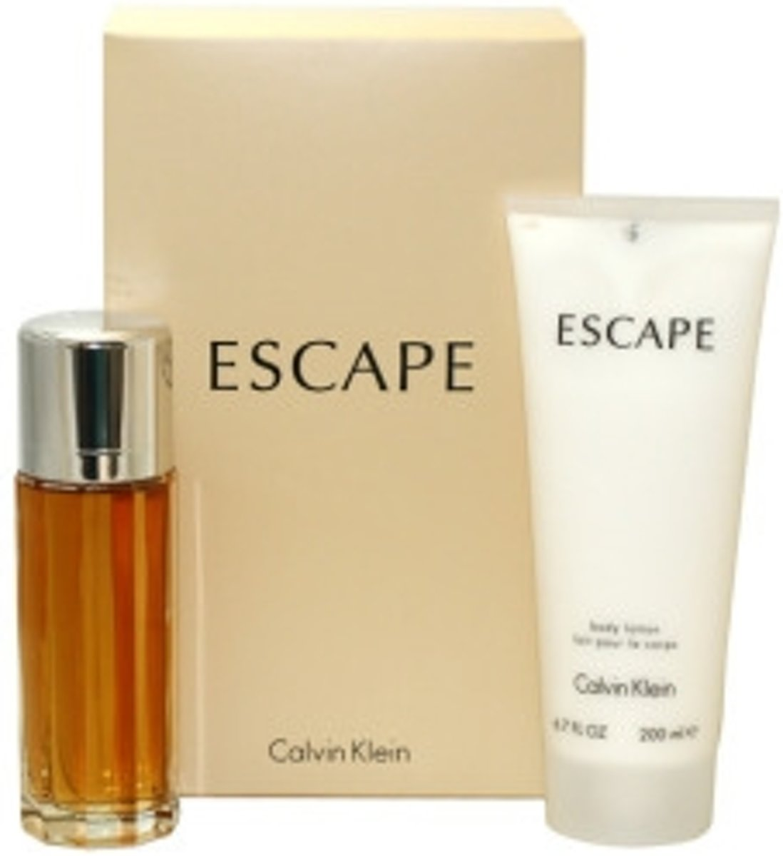 Calvin Klein - Eau de parfum - Escape 100ml eau de parfum + 100ml Bodylotion - Gifts ml