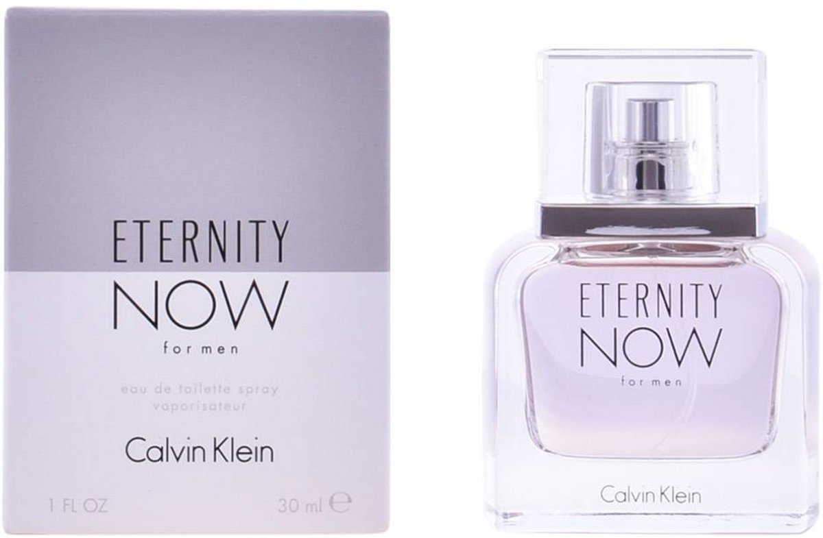 Calvin Klein Eau De Toilette Eternity Now 30 ml - Voor Mannen