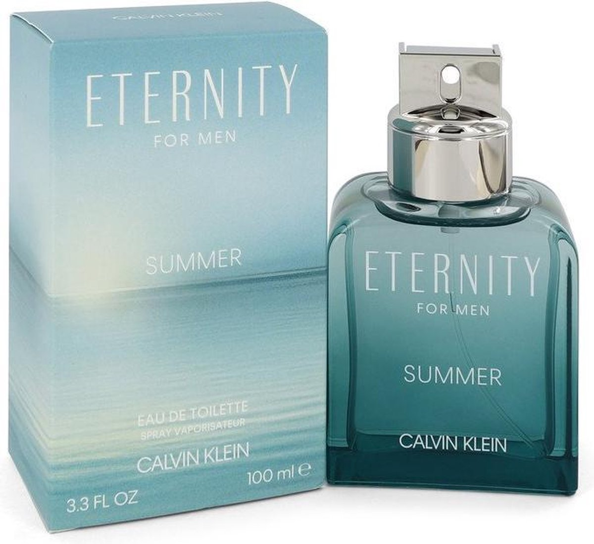 Calvin Klein Eternity Summer Eau De Toilette Spray (2020) 100 ml For Men