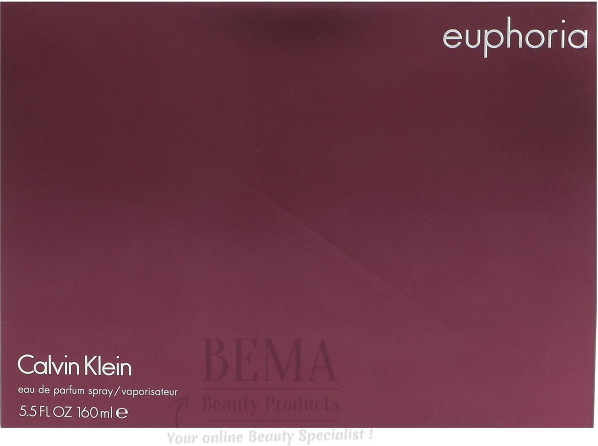 Calvin Klein Euphoria. Women Edp Spray 160ml