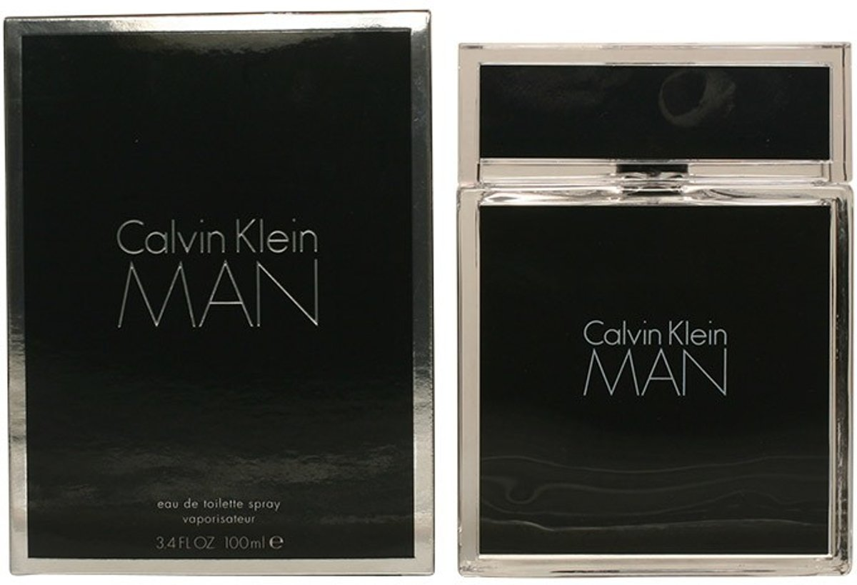 MULTI BUNDEL 2 stuks CALVIN KLEIN MAN eau de toilette spray 100 ml