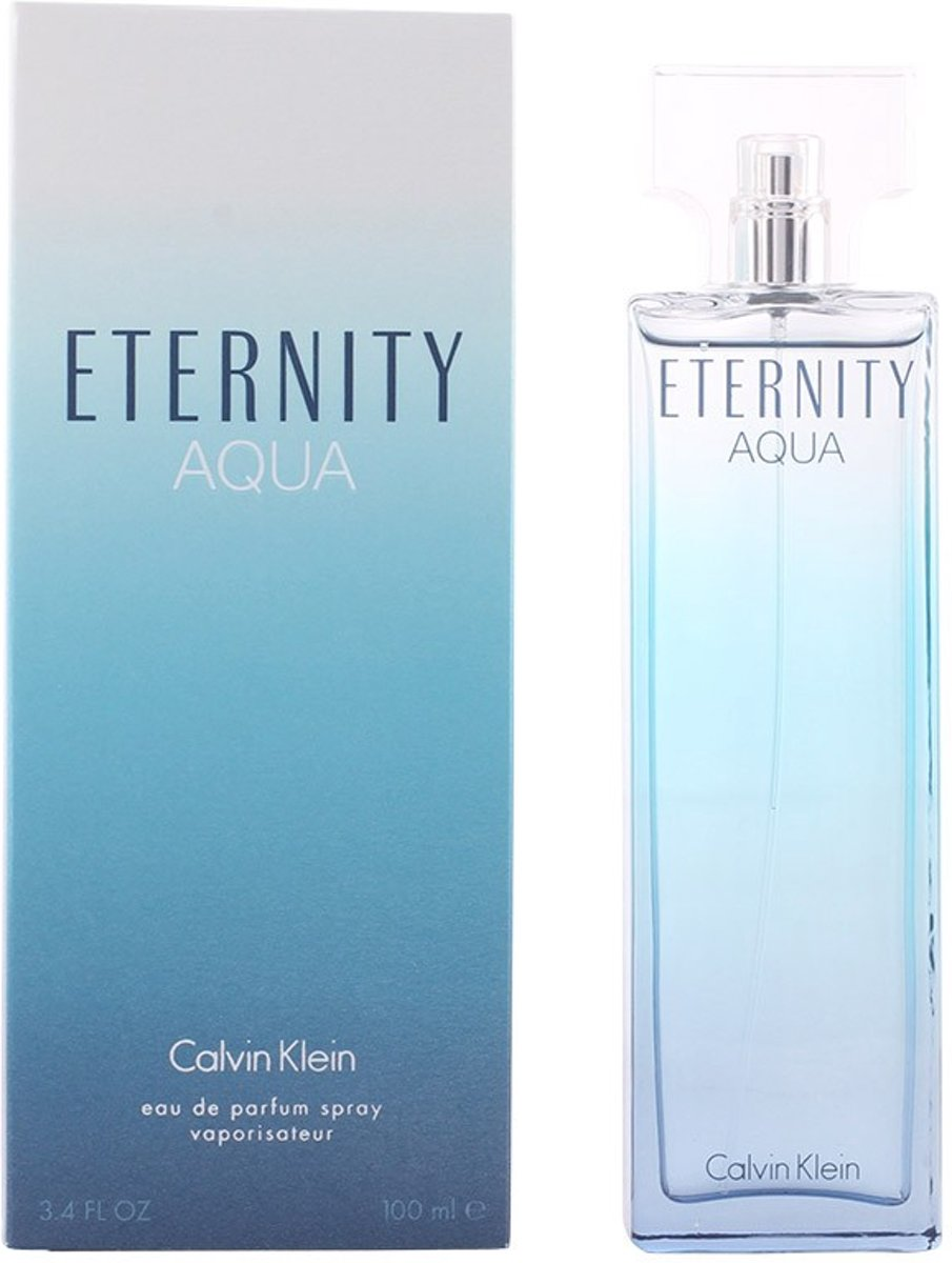 MULTI BUNDEL 2 stuks ETERNITY AQUA WOMAN eau de parfum spray 100 ml