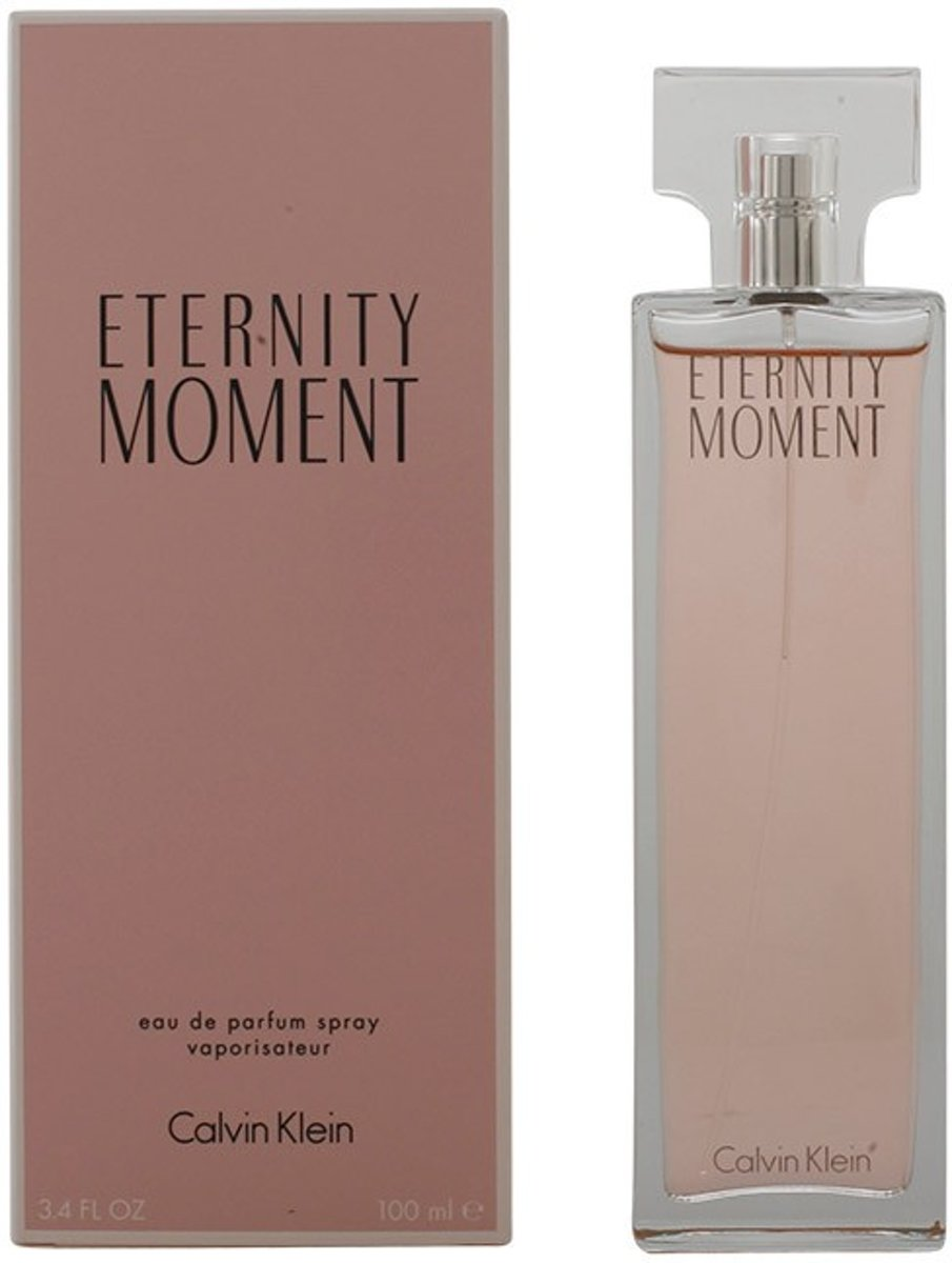 MULTI BUNDEL 2 stuks ETERNITY MOMENT Eau de Perfume Spray 100 ml