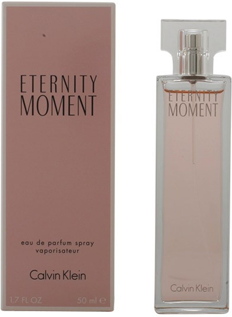 MULTI BUNDEL 2 stuks ETERNITY MOMENT Eau de Perfume Spray 50 ml
