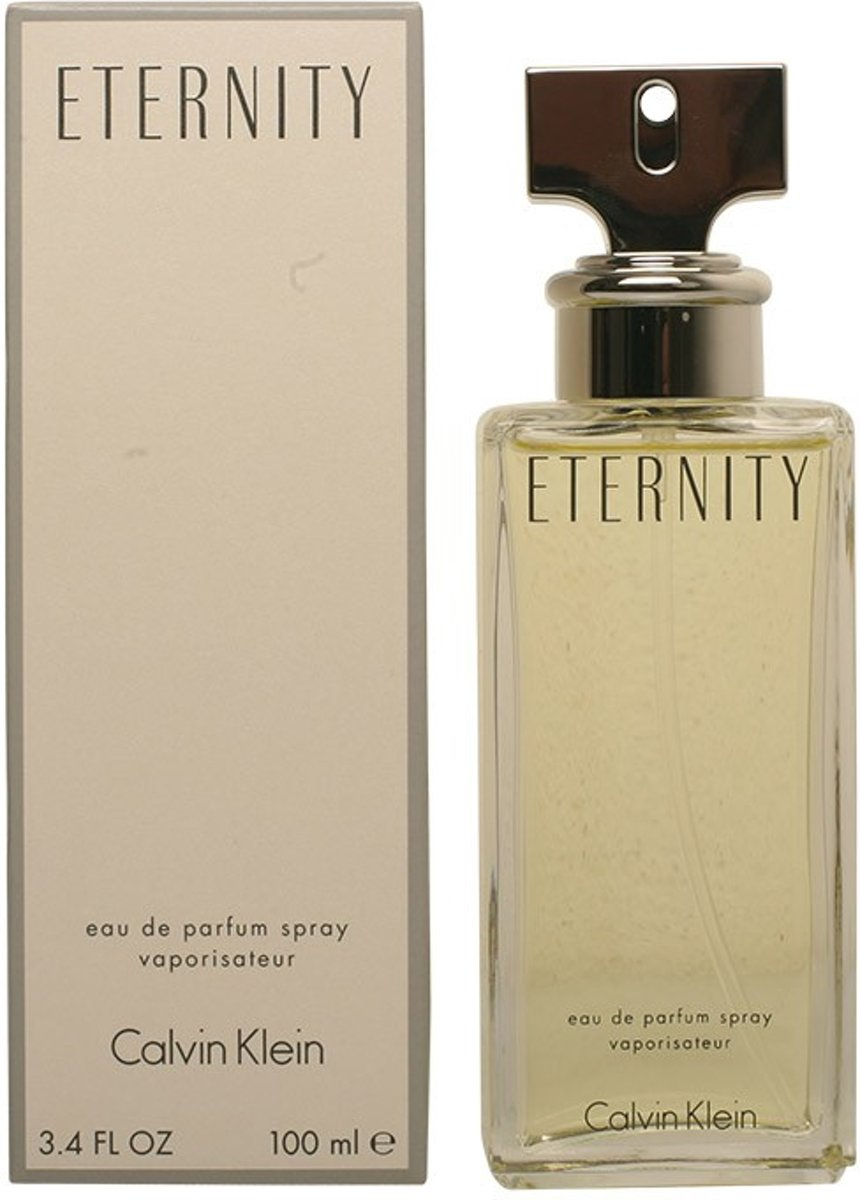 MULTI BUNDEL 2 stuks ETERNITY eau de parfum spray 100 ml
