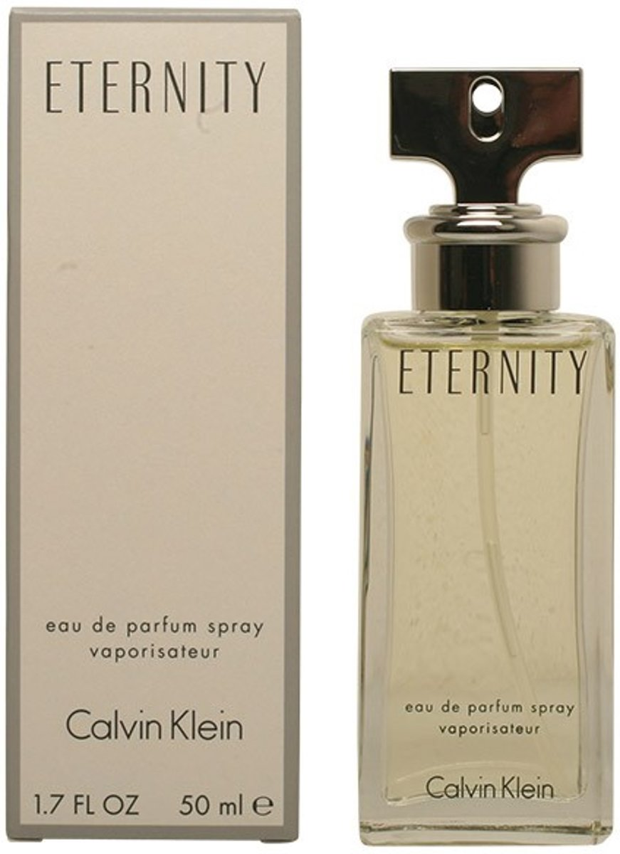 MULTI BUNDEL 2 stuks ETERNITY eau de parfum spray 50 ml