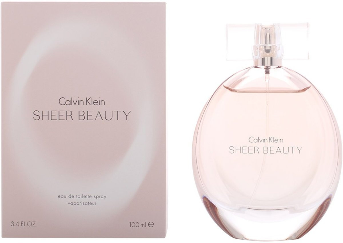 MULTI BUNDEL 2 stuks SHEER BEAUTY eau de toilette spray 100 ml