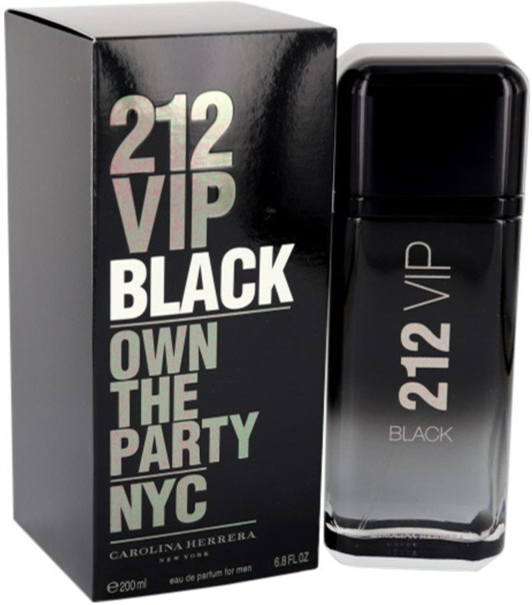 Carolina Herrera - Eau de toilette - VIP Black - 200 ml