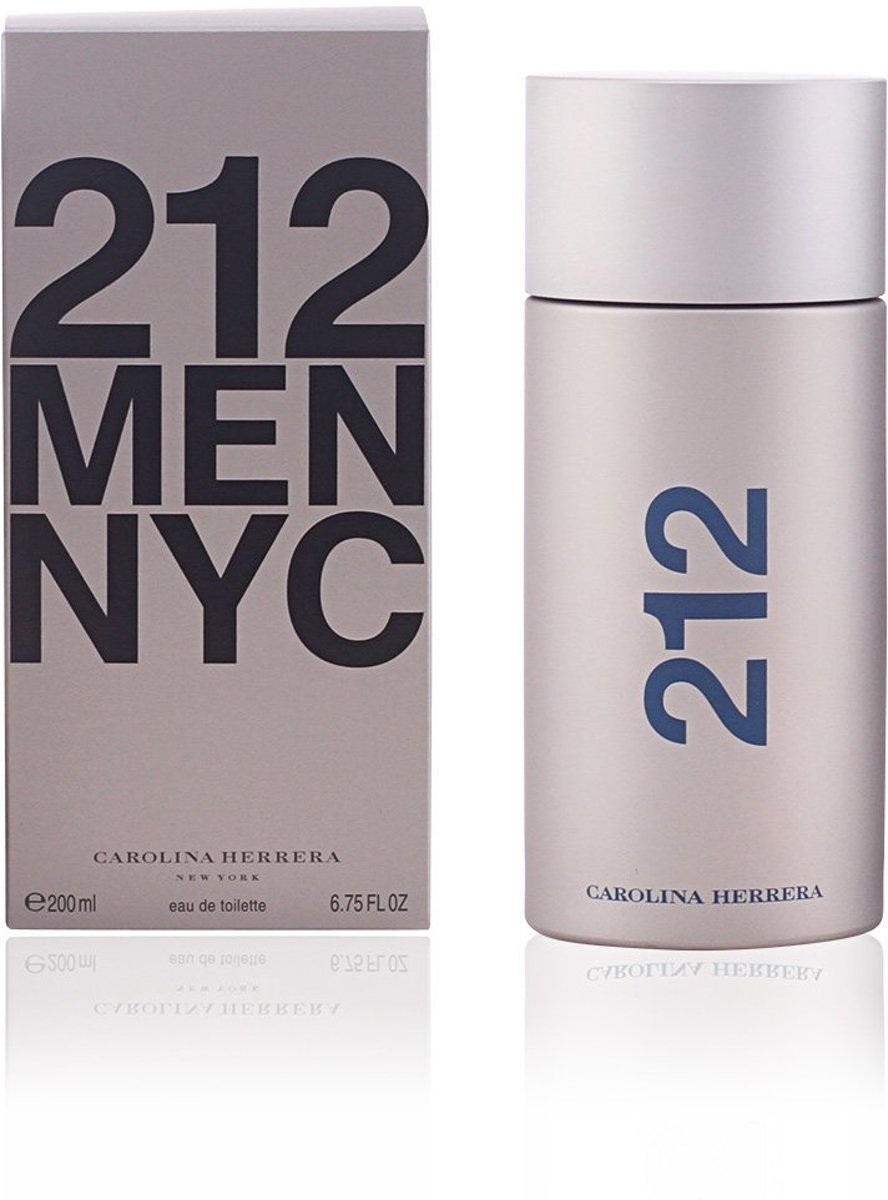 Carolina Herrera 212 Men NYC, 200ml Mannen 200ml eau de toilette