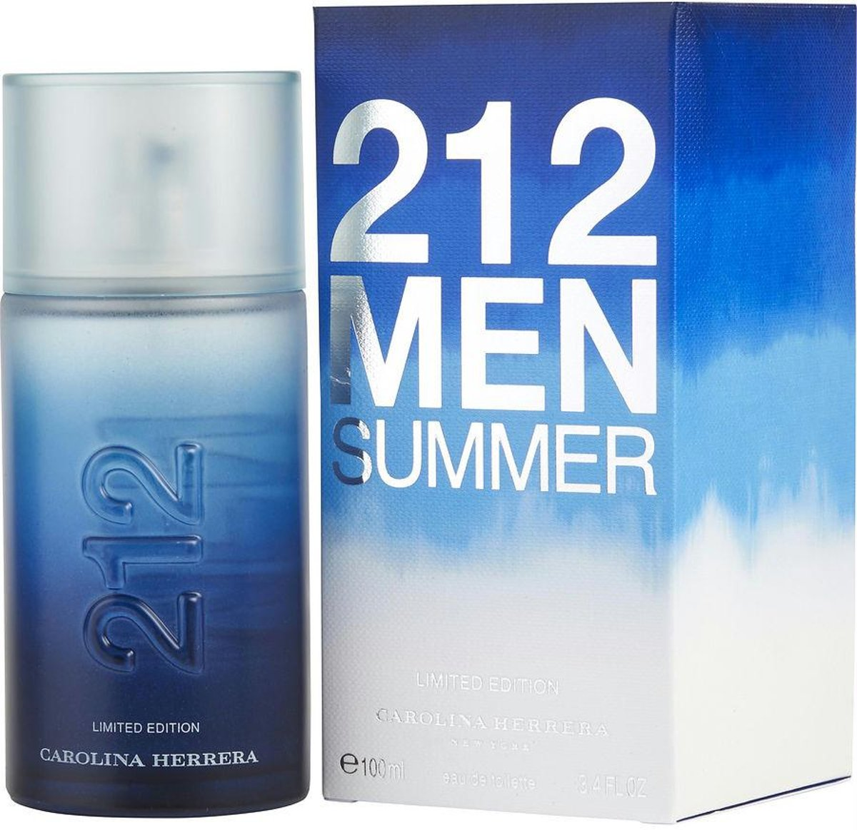 Carolina Herrera 212 Men Summer 2013 Limited Edition - 100 ml - Eau de toilette
