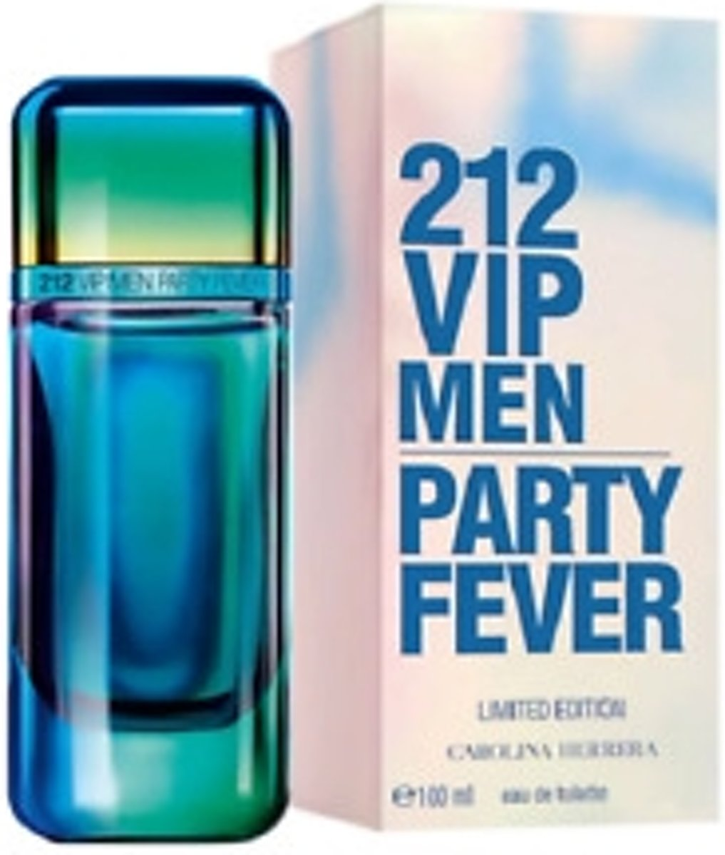 Carolina Herrera 212 Party Fever Eau De Toilette Spray (Limited Edition) | Herengeuren