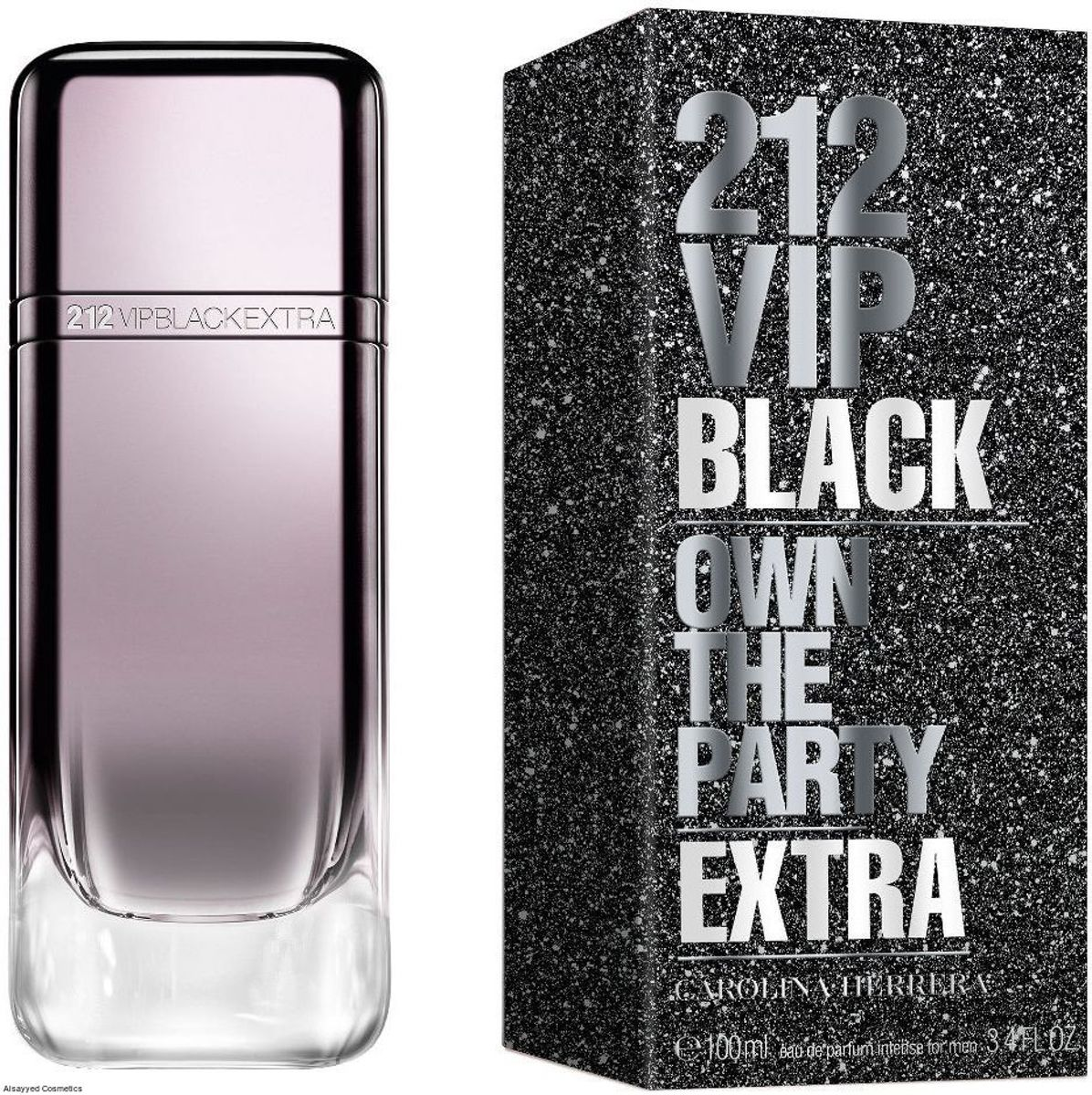 Carolina Herrera 212 VIP BLACK own the party extra edp spray 100 ml
