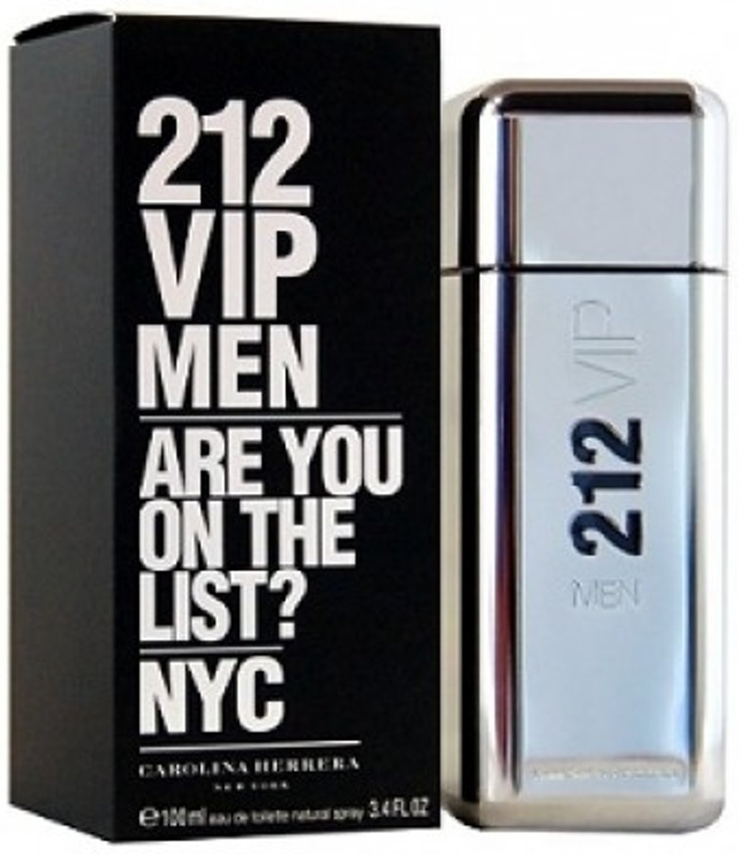 Carolina Herrera 212 VIP Men - 200 ml - Eau de toilette