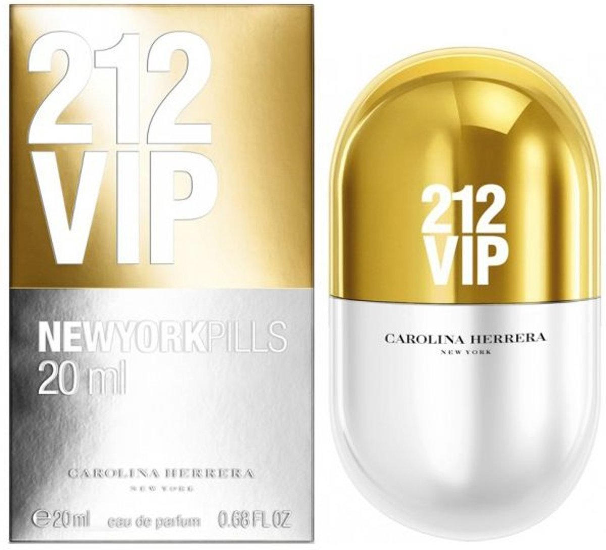 Carolina Herrera 212 VIP Pills Eau de Parfum 20ml Spray