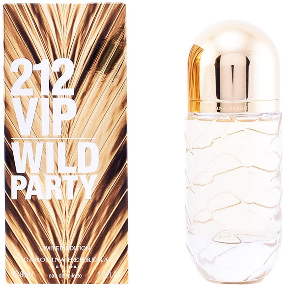 Carolina Herrera 212 VIP Wild Party for Women - 80 ml - eau de toilette spray