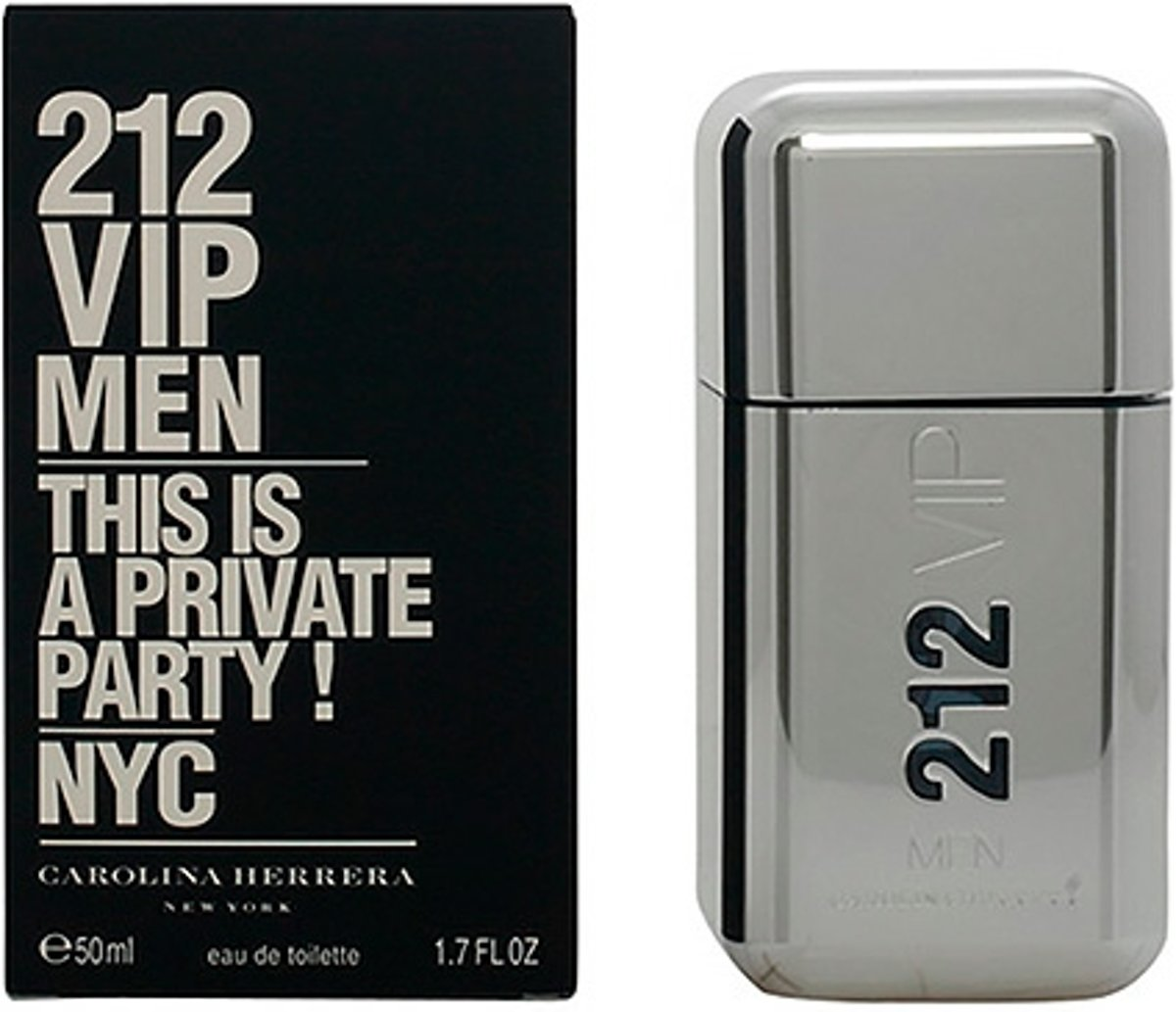 Carolina Herrera 212 Vip Men - 50 ml - Eau De Toilette