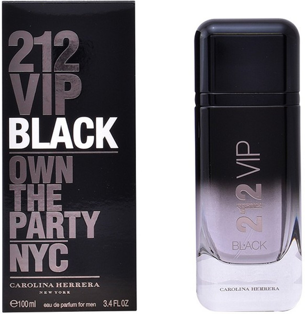 Herenparfum 212 Vip  Black Carolina Herrera EDP