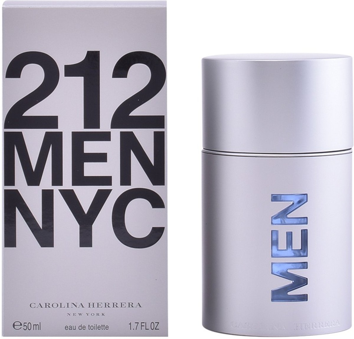 MULTI BUNDEL 2 stuks 212 NYC MEN Eau de Toilette Spray 50 ml