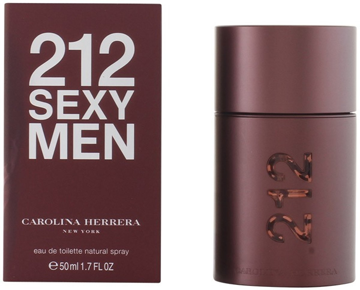 MULTI BUNDEL 2 stuks 212 SEXY MEN Eau de Toilette Spray 50 ml