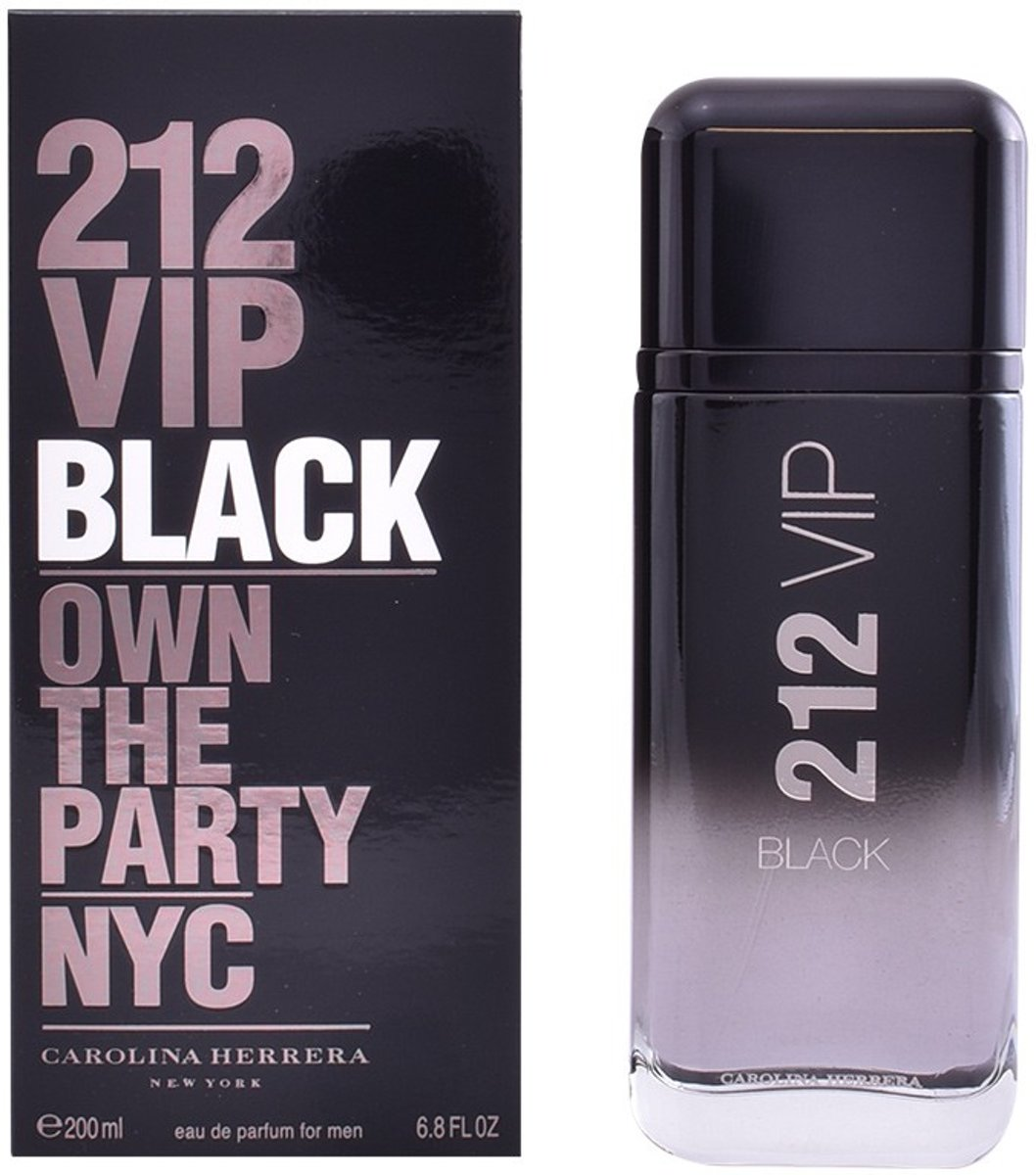 MULTI BUNDEL 2 stuks 212 VIP BLACK Eau de Perfume Spray 200 ml