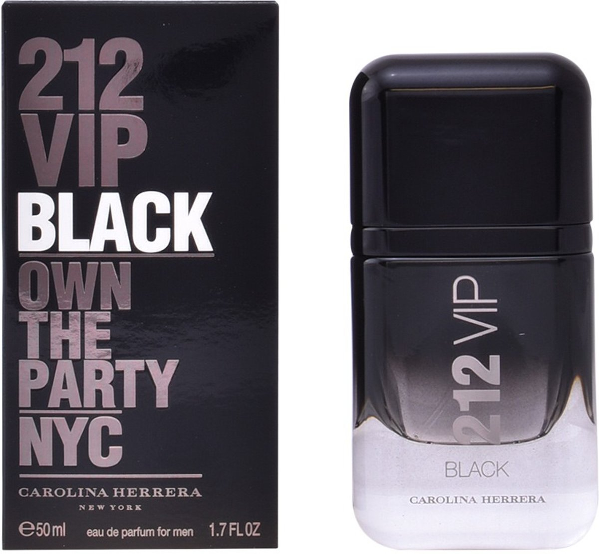MULTI BUNDEL 2 stuks 212 VIP BLACK Eau de Perfume Spray 50 ml