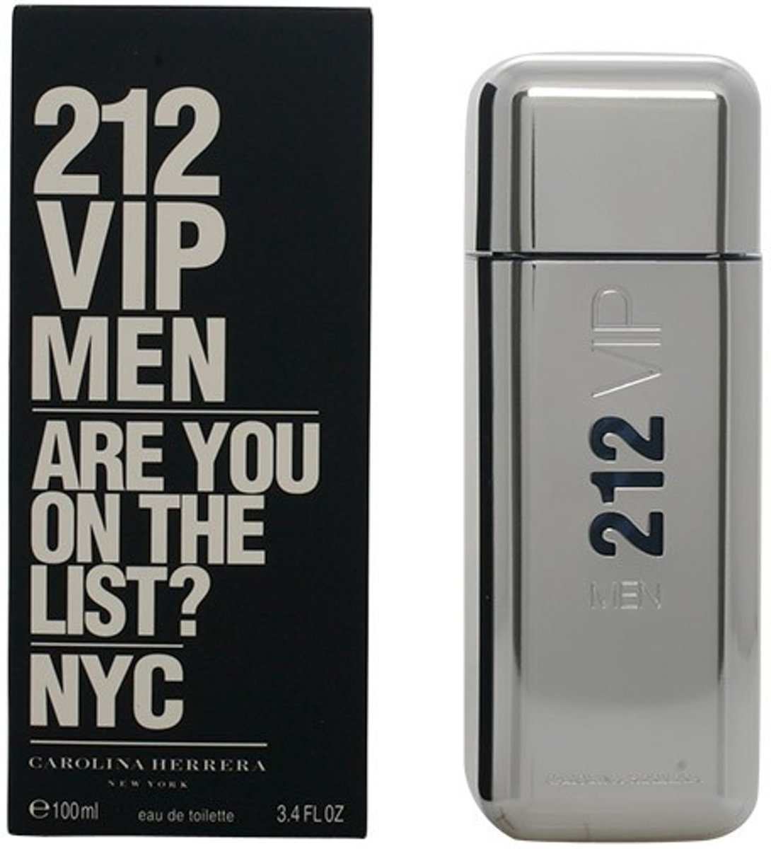 MULTI BUNDEL 2 stuks 212 VIP MEN Eau de Toilette Spray 100 ml