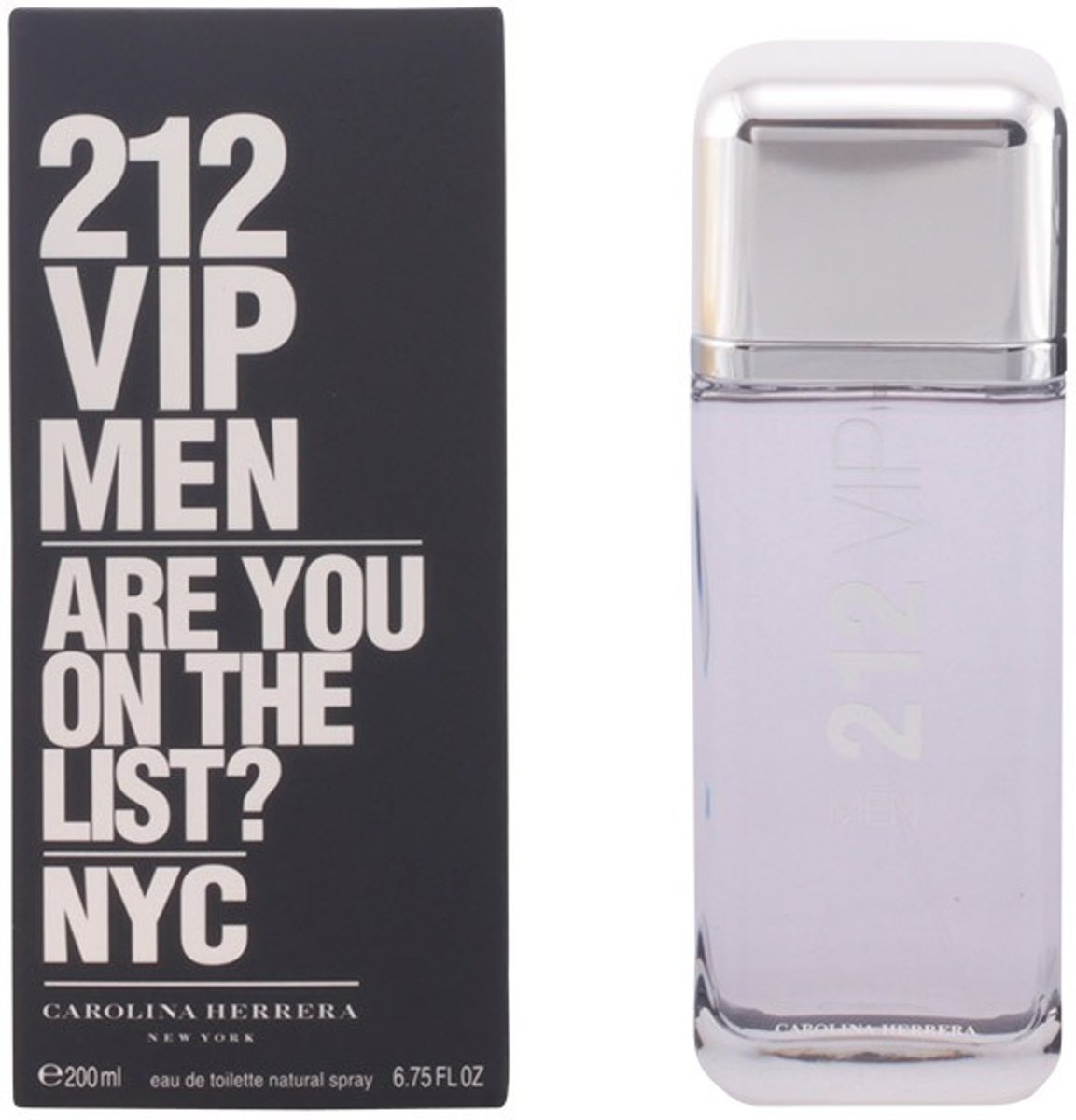 MULTI BUNDEL 2 stuks 212 VIP MEN Eau de Toilette Spray 200 ml