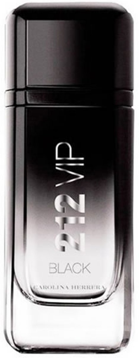 MULTI BUNDEL 2 stuks Carolina Herrera 212 Vip Black Men Eau De Perfume Spray 200ml