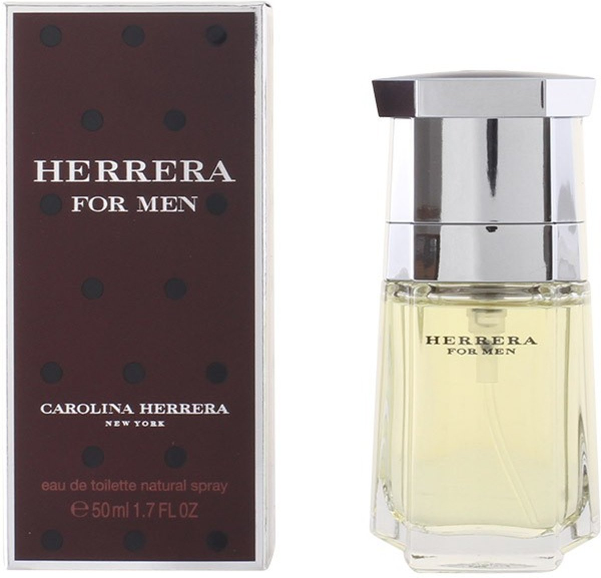 MULTI BUNDEL 2 stuks HERRERA FOR MEN Eau de Toilette Spray 50 ml
