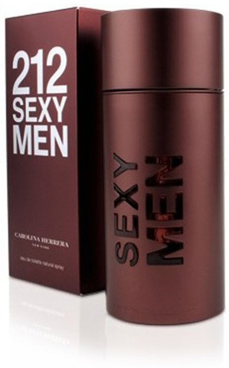 MULTI BUNDEL 3 stuks Carolina Herrera 212 Sexy Men Eau De Toilette Spray 50ml
