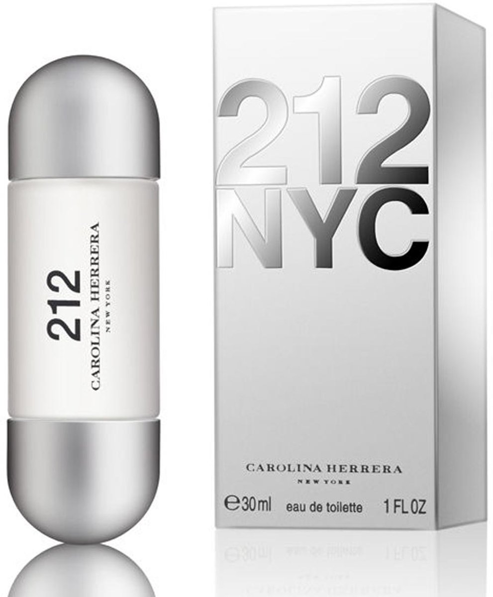 MULTI BUNDEL 5 stuks Carolina Herrera 212 Nyc Eau De Toilette Spray 30ml