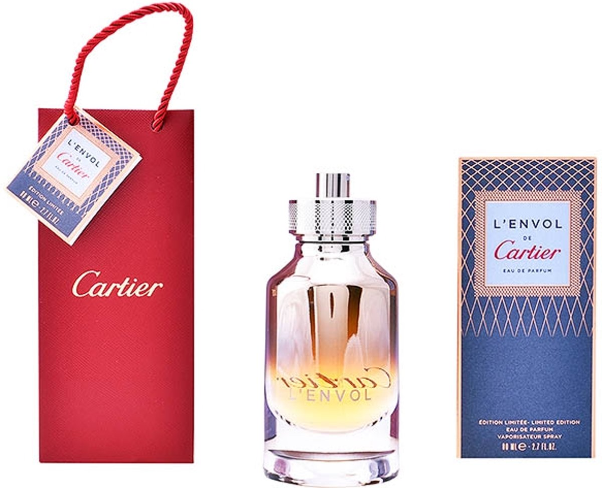 Herenparfum Lenvol Metamorphose Cartier EDP limited edition