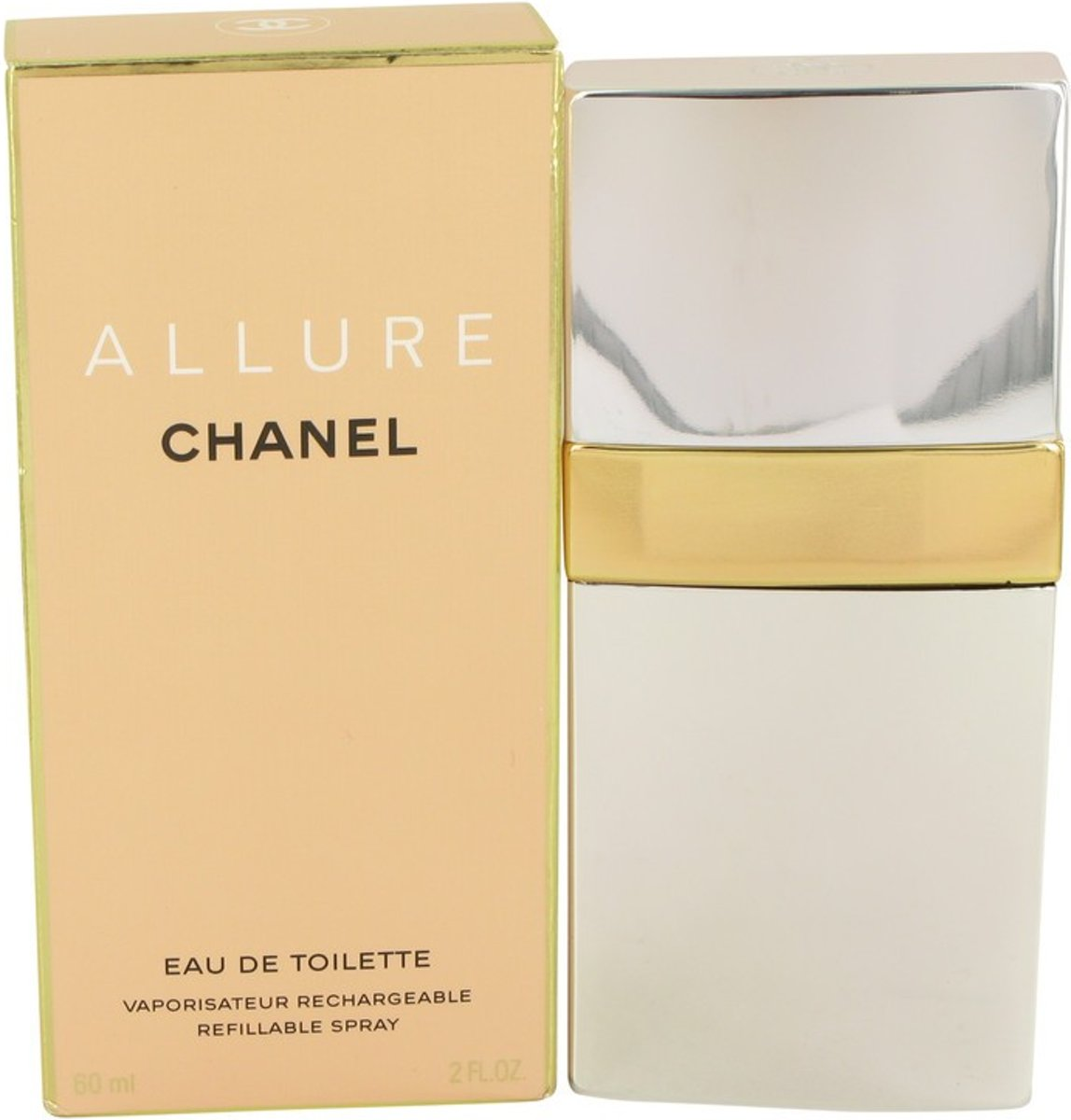 Chanel Allure Eau de Toilette Navulbaar 60 ml