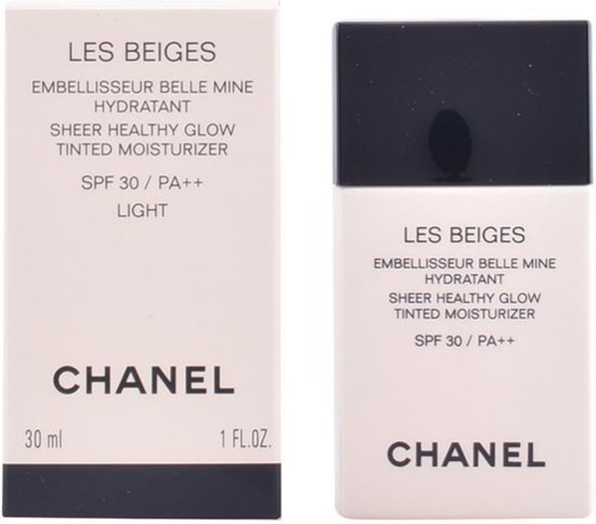 Chanel Les Beiges Sheer Healthy Glow Tinted Moisturizer SPF 30 - Medium - 30 ml - getinte dagcreme