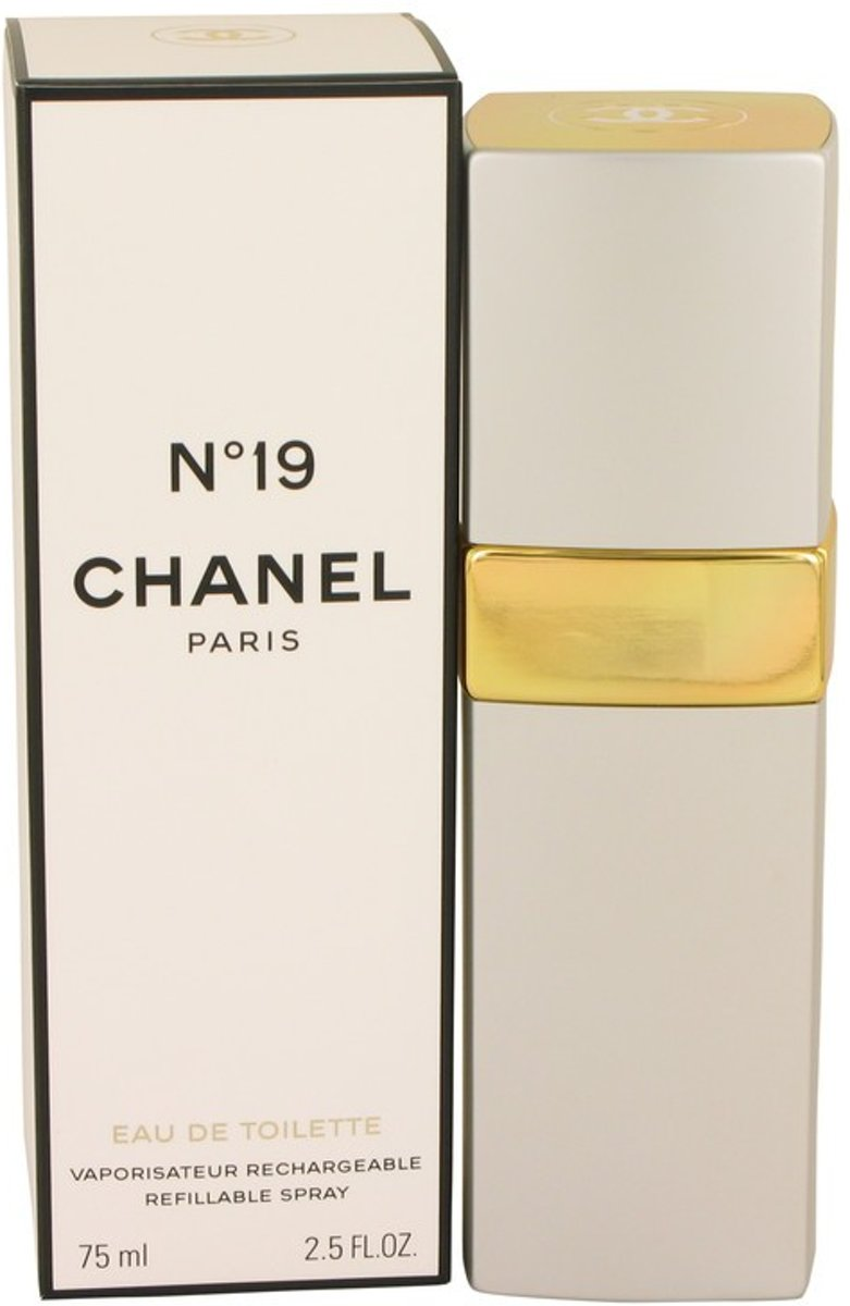 Chanel No 19 Eau De Toilette Rifillable Spray