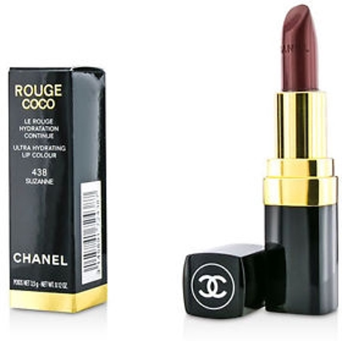 chanel rouge coco 438 suzanne lippenstift 3145891724387 prijs. Black Bedroom Furniture Sets. Home Design Ideas