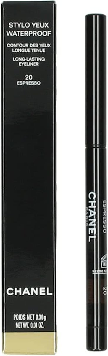 Chanel Stylo Yeux Waterproof - 20  Espresso - Oogpotlood